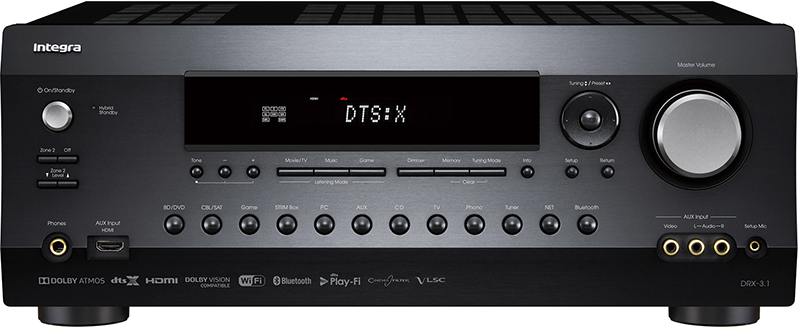DRX-3 1 | INTEGRA HOME THEATER