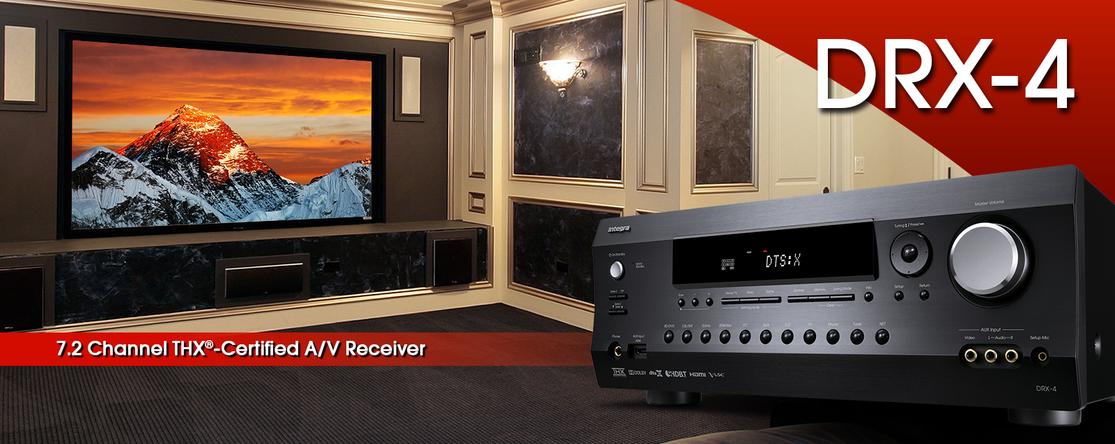 DRX-4 | INTEGRA HOME THEATER