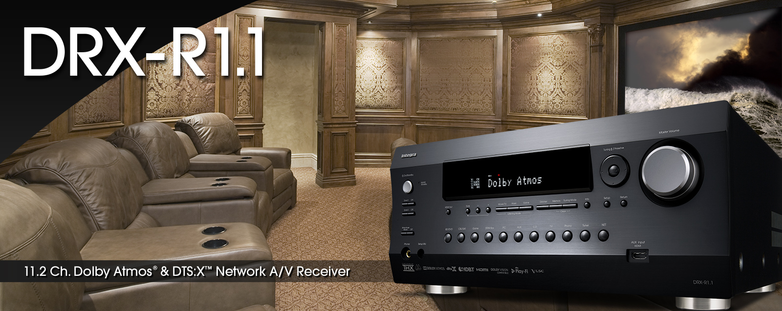 DRX-R1 1 | INTEGRA HOME THEATER