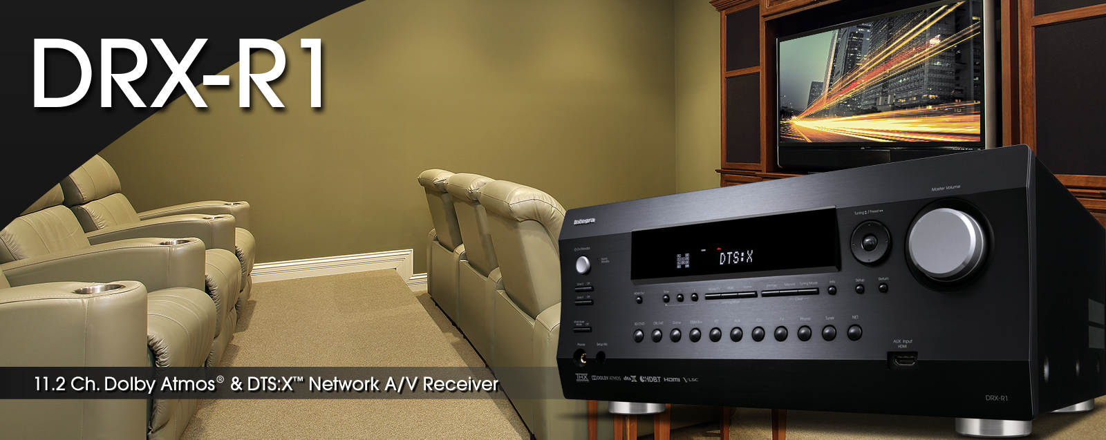 DRX-R1 | INTEGRA HOME THEATER